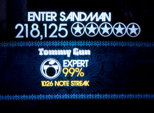 Rock Band: Two #1 (in the WORLD*!) Expert drum scores